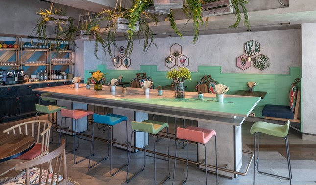 Ovolo Southside Dining Tables in Hong Kong