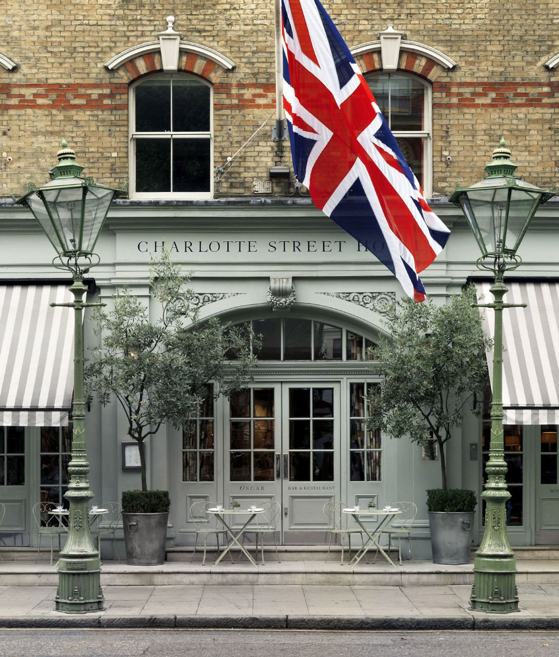 Charlotte Street Hotel Architecture in London