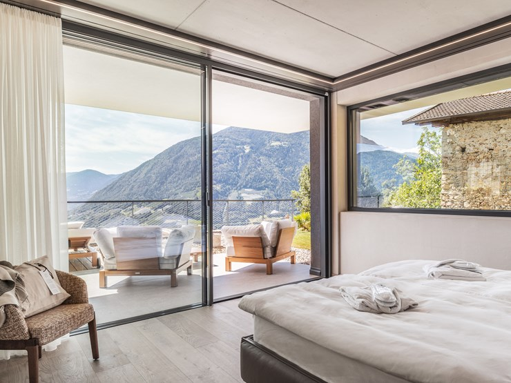 Arua Private Spa Villas Rooms in Merano