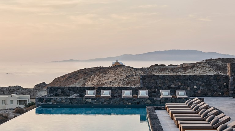 Design Series K Studio Canaves Oia Epitome Pool Landscape View 06 001