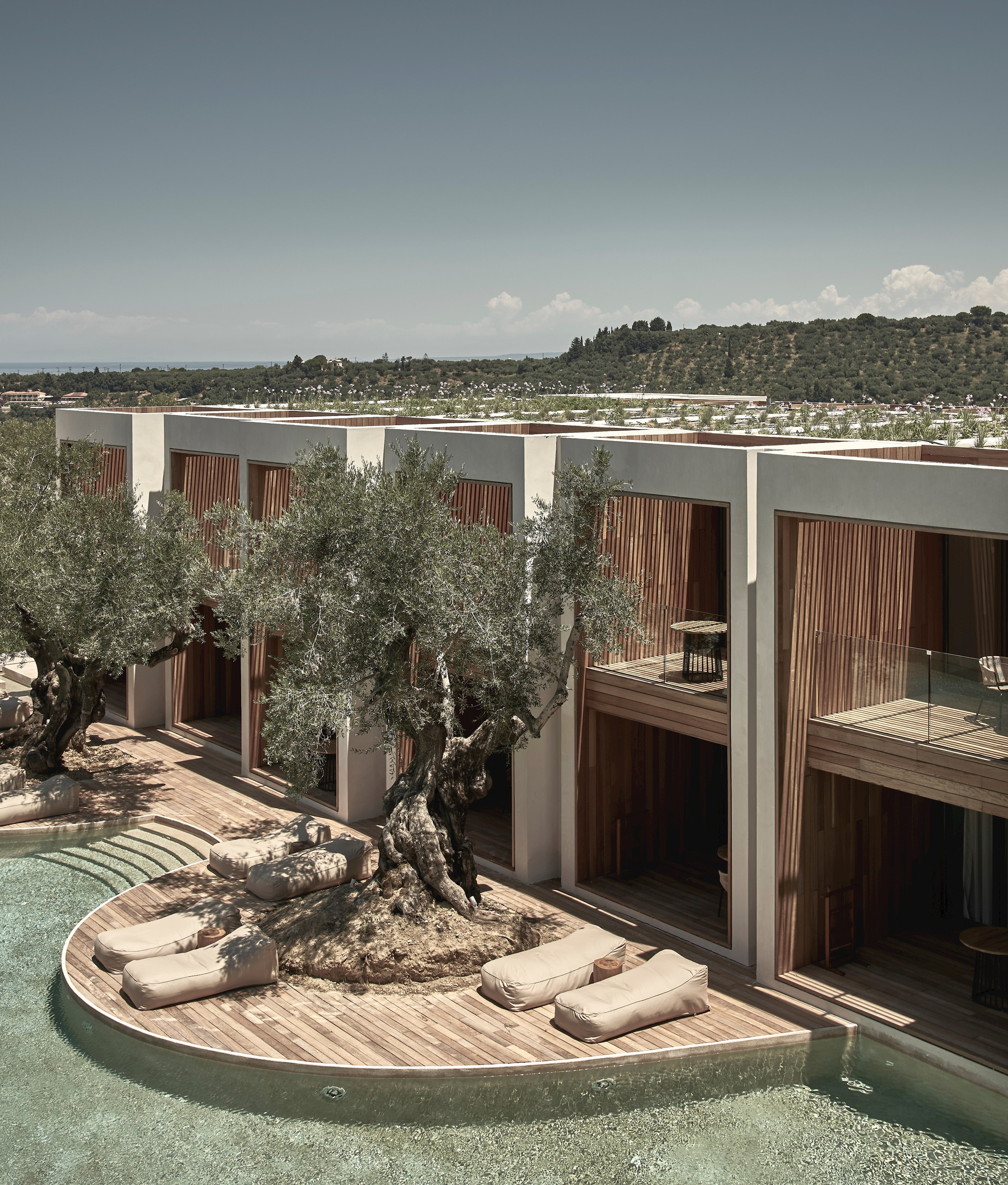 Olea All Suite Hotel Architecture