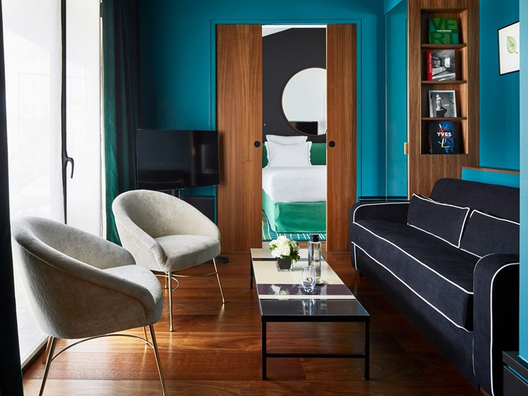 Le Roch Hotel and Spa Couch in Paris