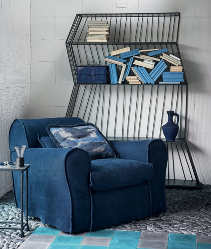 003 Paola Navone Baxter Housse Armchair