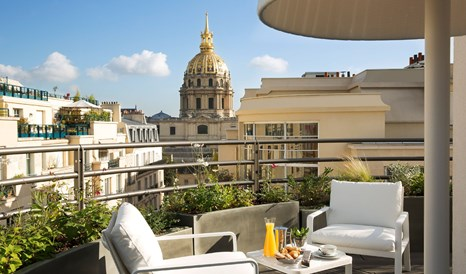 Le Cinq Codet Balcony in Paris
