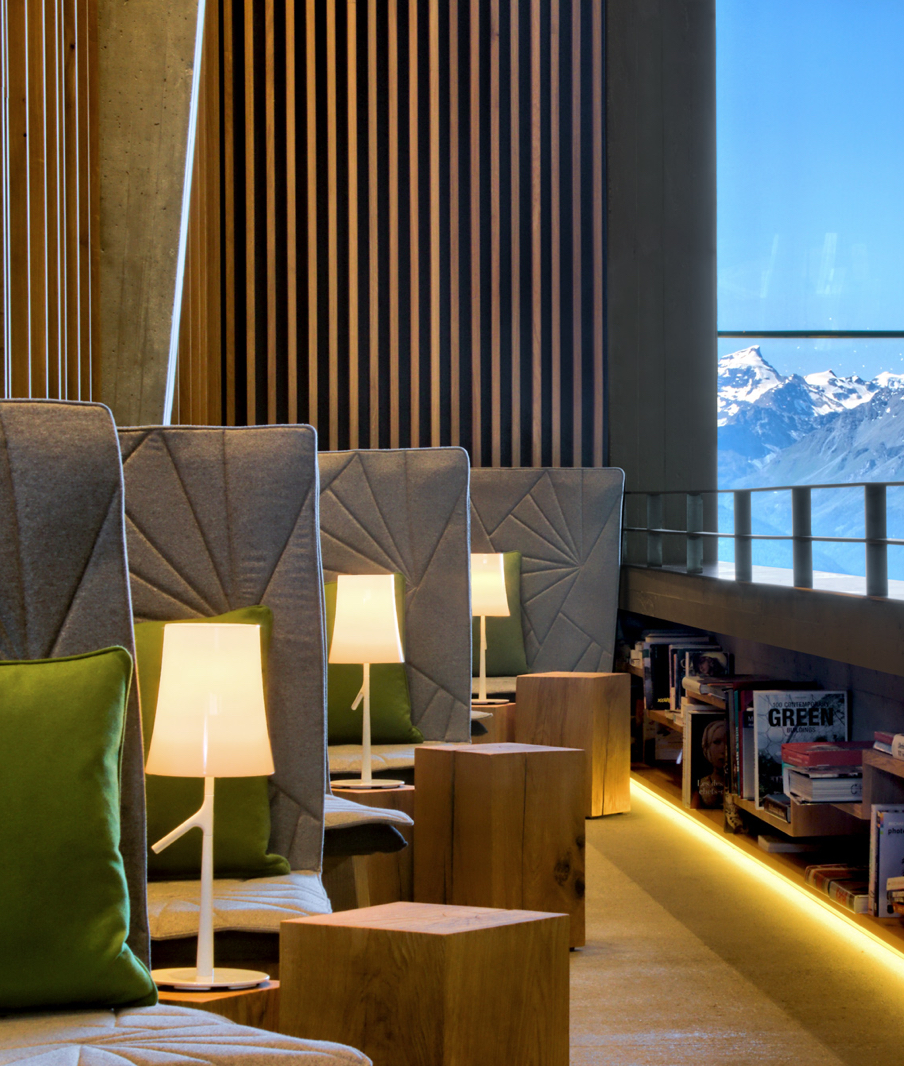 Chetzeron Interior Design in Crans-Montana