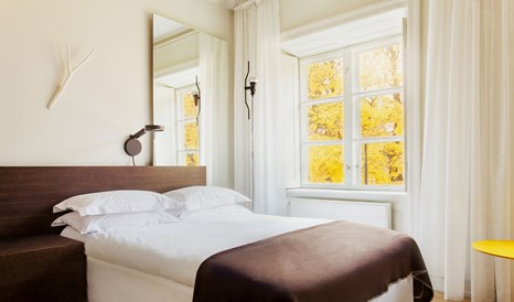 Bedroom view Interior Design Hotel Skeppsholmen Stockholm