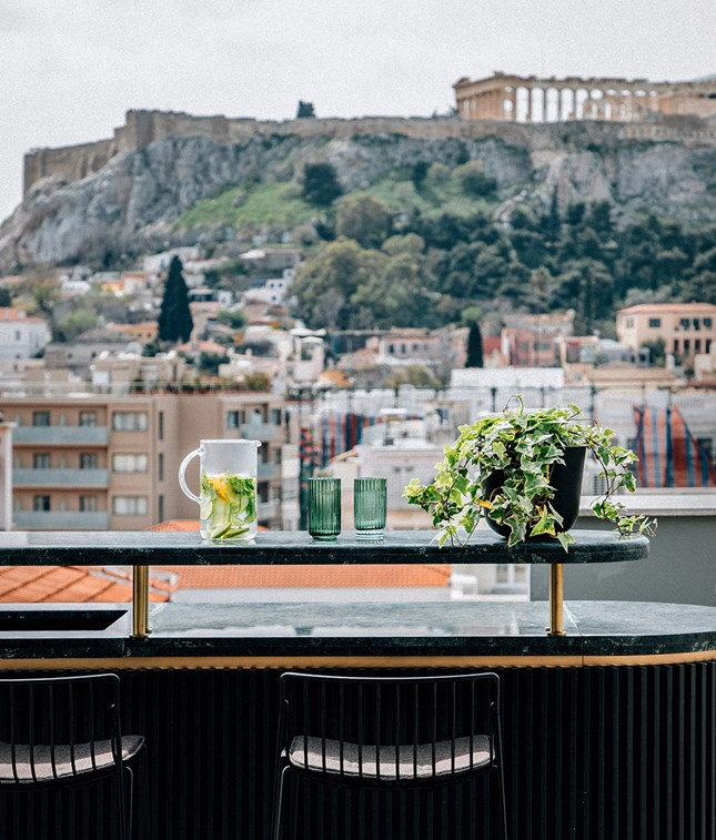 Perianth Hotel Suite Bar Rooftop Pool City Acropolis View M 10 R B