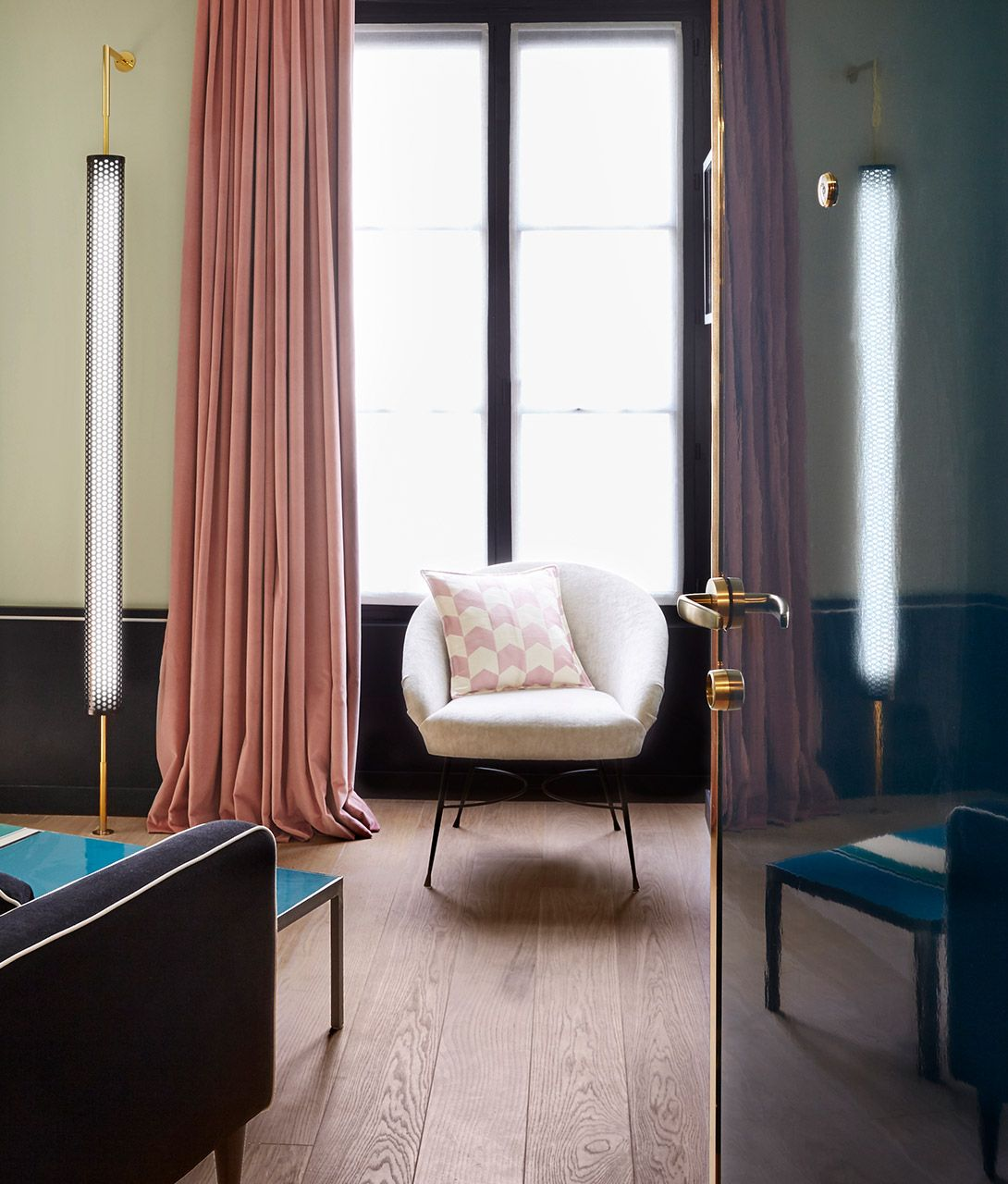 Le Roch Hotel Curtains in Paris