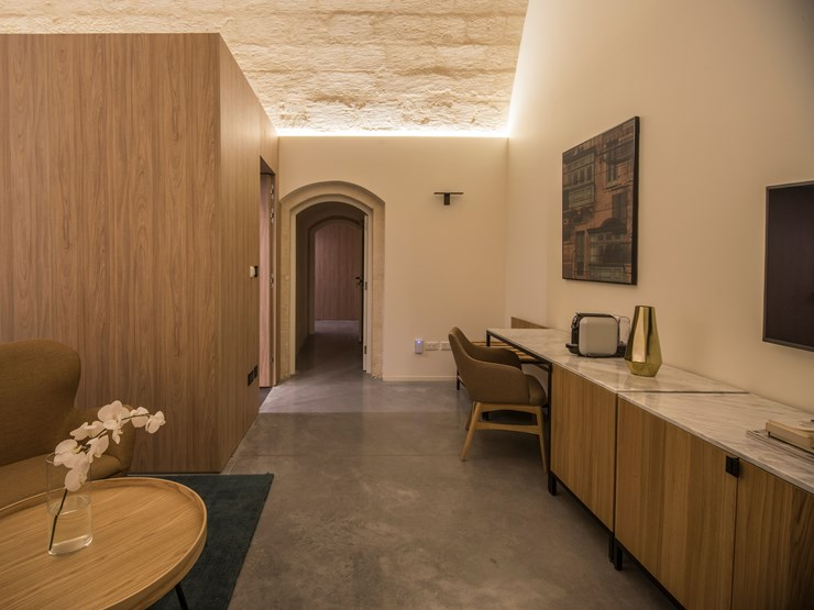 Cugo Gran Macina Grand Harbour Luxury Suite in Senglea