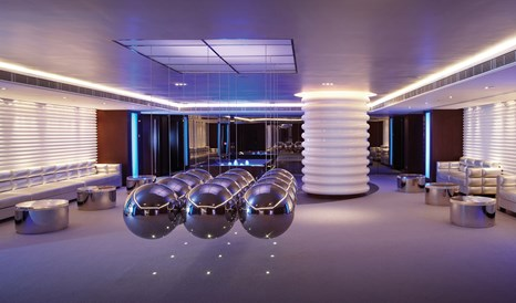 The Mira Hong Kong Lounge Ceiling Decoration Balls M 04 R