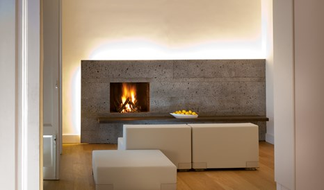 Zash Country Boutique Hotel Fireplace in Archi Riposto