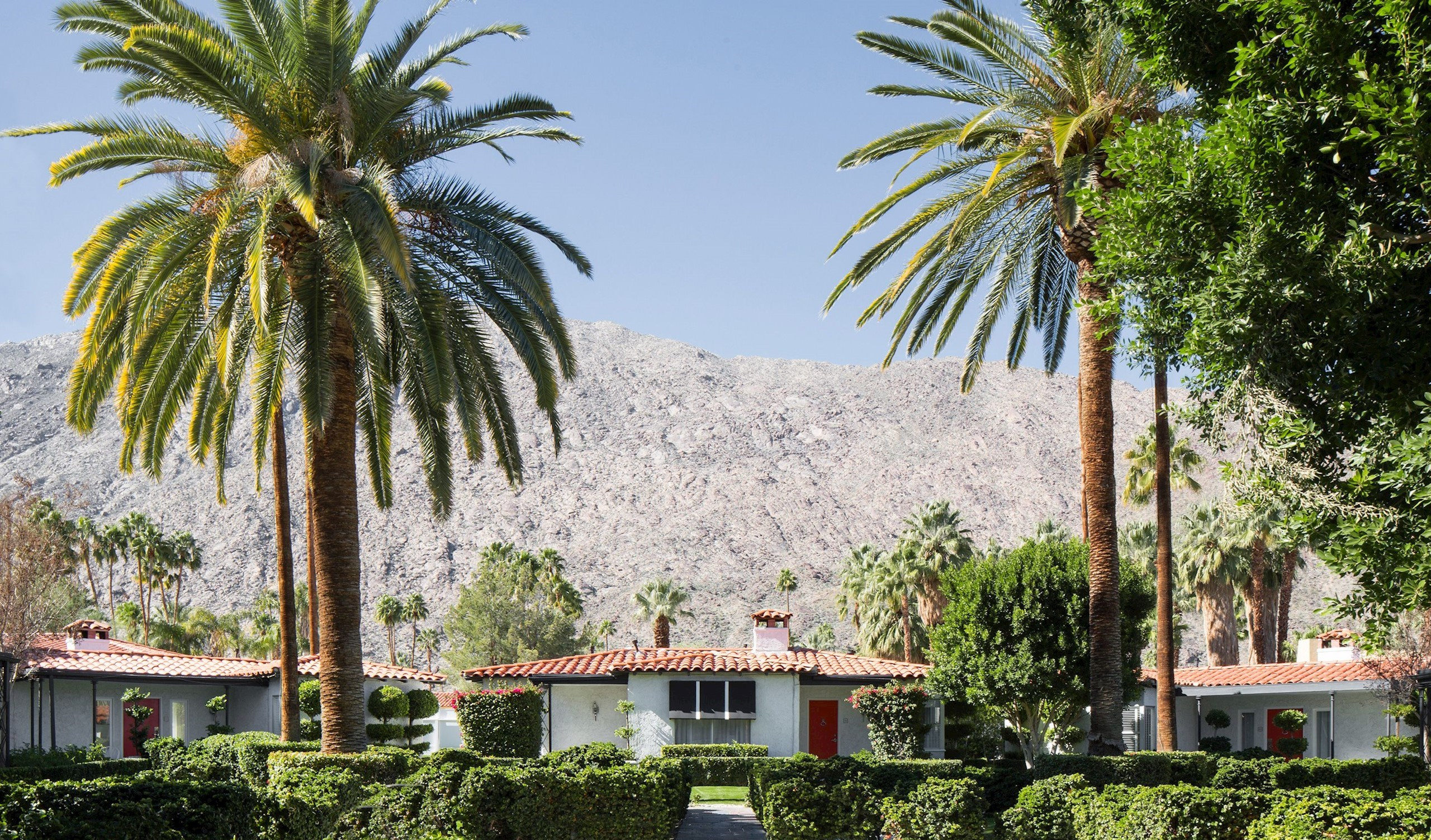 Avalon Hotel Palm Springs Landscape in Palm Springs